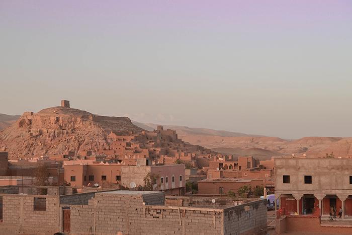 Viaja a Marruecos y escribe.